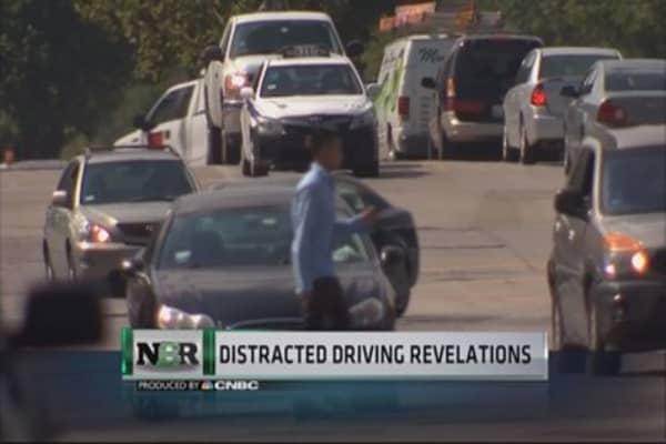 Dangerous driving habit