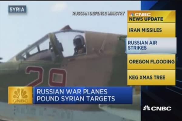 CNBC update: Iran missiles