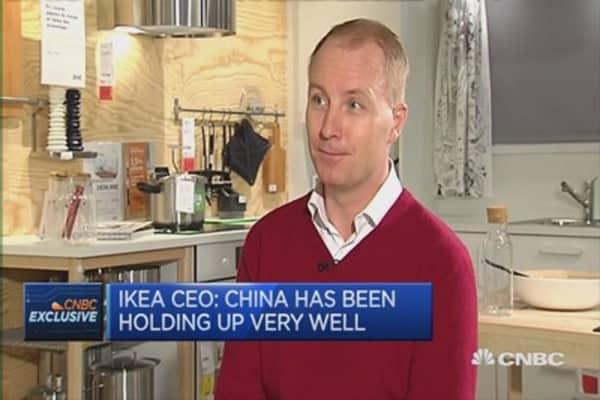 We had a good year for growth: IKEA CEO