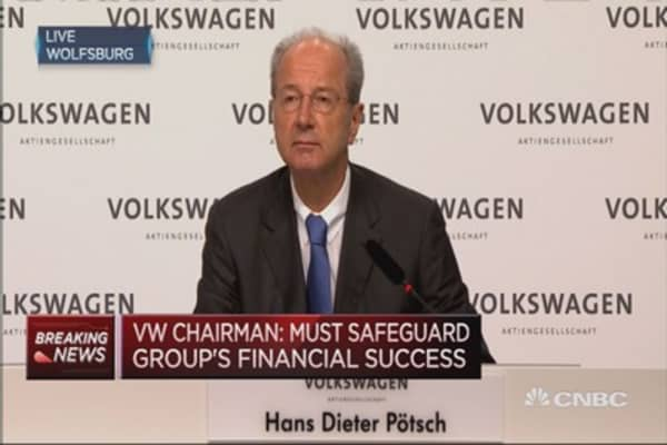 Costs will likely be very significant: VW