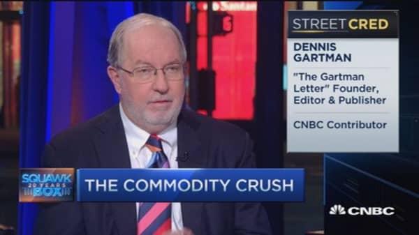 Crude heading lower, bounces short-lived: Gartman