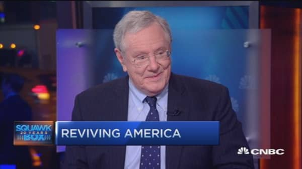 Steve Forbes' message to the GOP