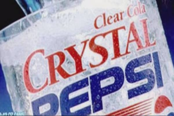 A six-pack of Crystal Pepsi could be yours