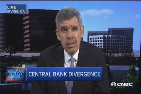 El-Erian: Divergence key issue for markets in 2016