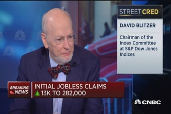 David Blitzer: Big story is oil not the Fed