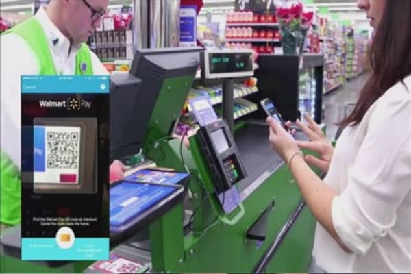 Wal-Mart enters mobile payments space