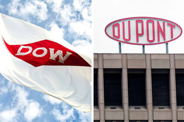 Dupont and Dow Chemical