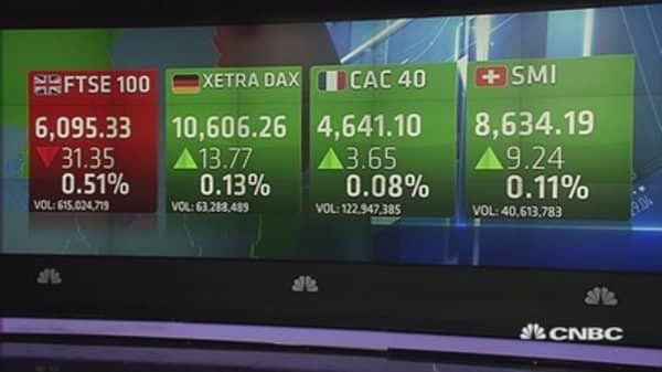 Europe closes mixed; Glencore in focus