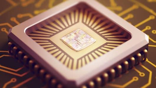 Microchip technology.