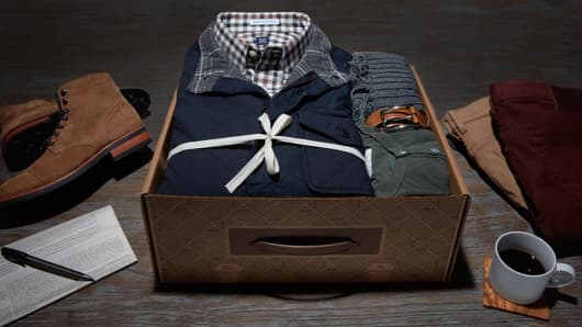 Trunk Club clothes.