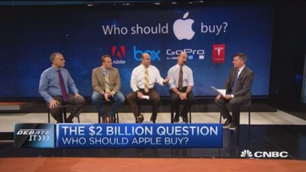 4 companies Apple should buy