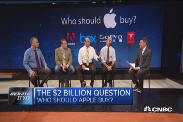 4 companies Apple should buy