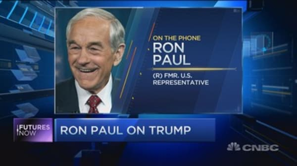 Ron Paul's warning about Trump