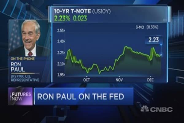 Ron Paul on the Fed's next move