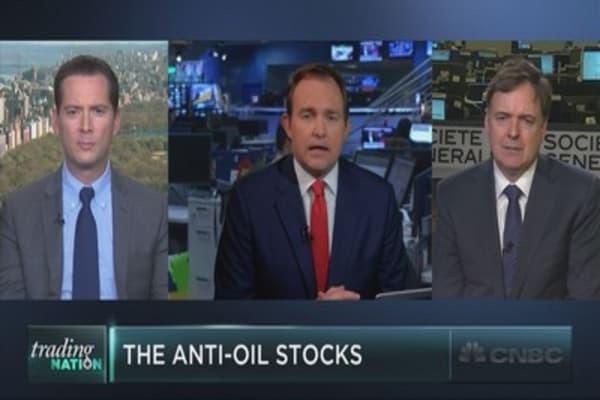The anti-oil stocks