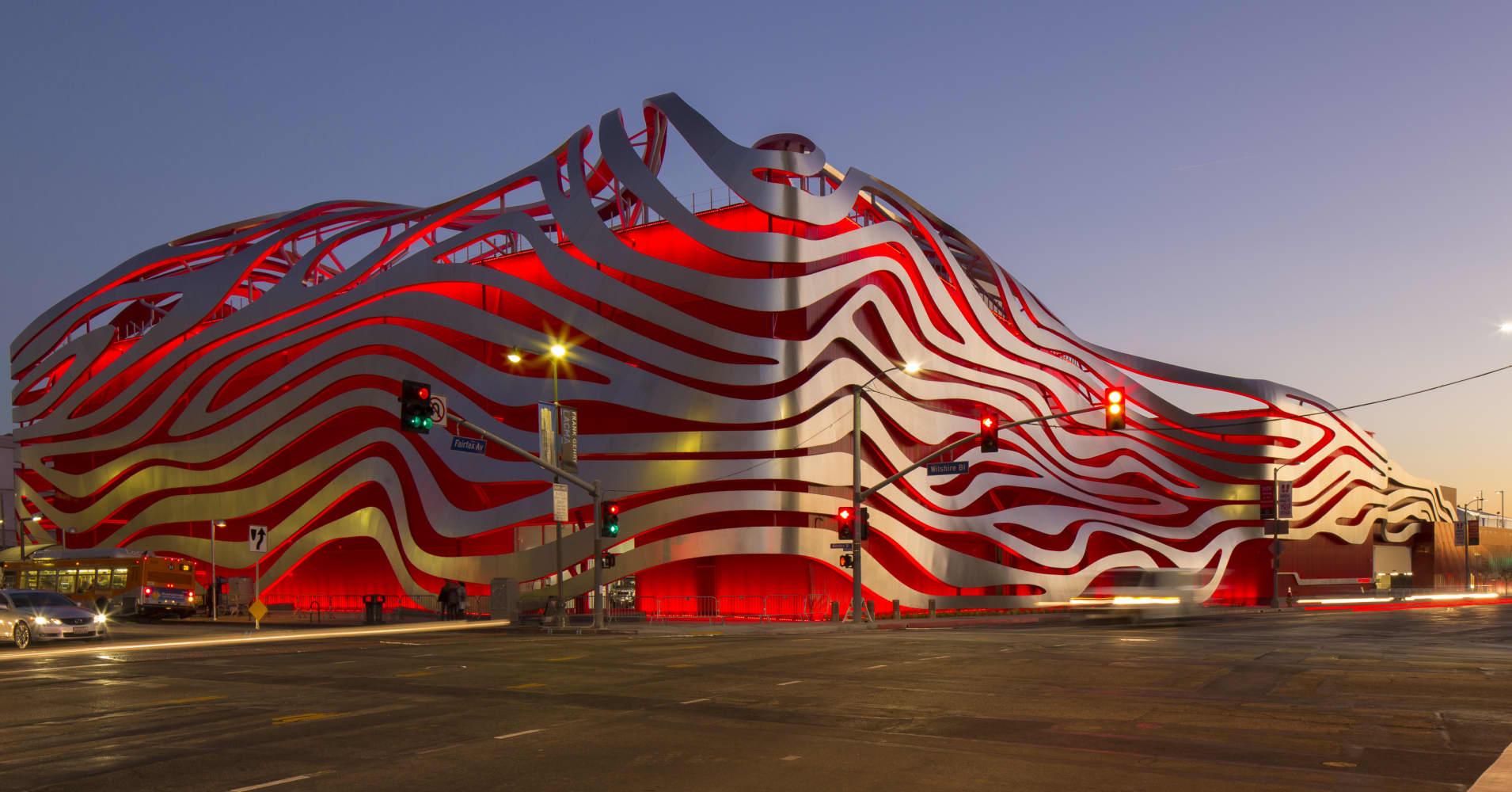 Car Museum Los Angeles >> LA's Petersen Automotive Museum reopens after $125M rebuild
