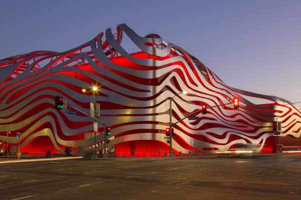 Petersen Automotive Museum.