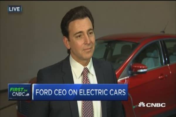 Ford CEO: Working toward new 2016 goals