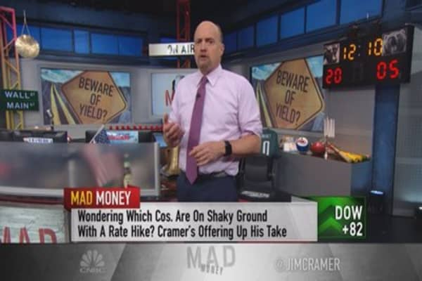 Cramer: Risky stocks to sell ahead of a rate hike