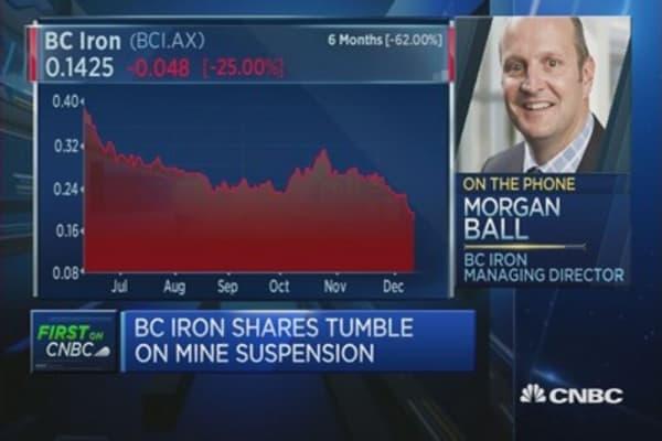 BC Iron: Mine resumption depends on iron ore price