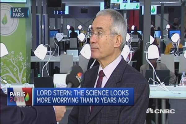 Dangers of climate change are intense: Stern