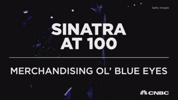 Sinatra at 100: Merchandising Ol' Blue Eyes