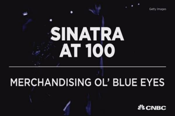 Sinatra at 100: Merchandising Ol' Blue Eyes