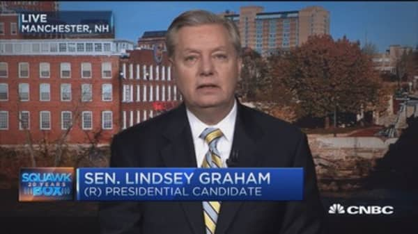 Sen: Graham:  Donald Trump has done 'worst possible thing' as political leader