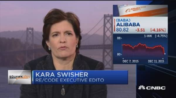 Kara Swisher: Alibaba going for 'influence and impact' with paper purchase