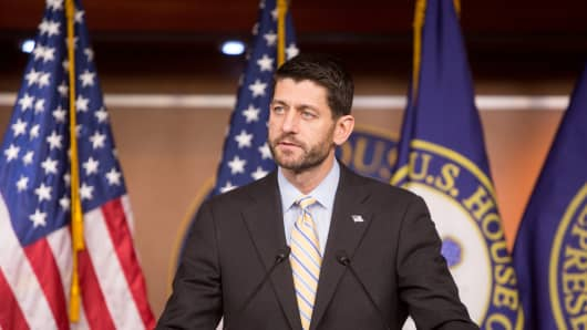House Speaker Paul Ryan (R-WI).