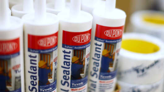 DuPont products are shown for sale in a hardware store in National City, California, December 9, 2015.