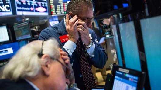 Upset NYSE Trader