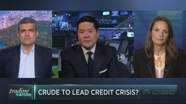 Is crude causing a credit crisis?