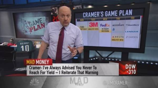 Cramer's game plan: It's time to sell, sell, sell