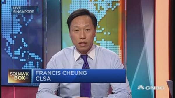 Switching yuan targeting is a big signal: CLSA