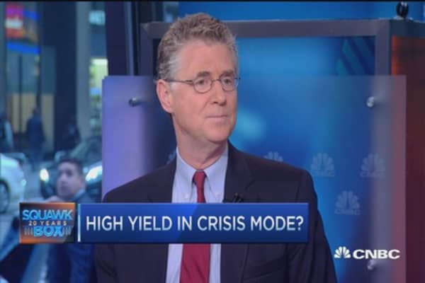 High yield in crisis mode? Peter Fisher