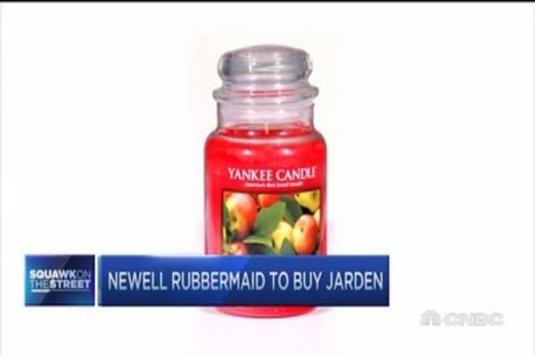 Cramer on Newell Rubbermaid/Jarden deal