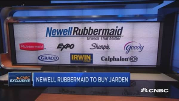 Jarden's Franklin: More & quicker value with Newell Rubbermaid