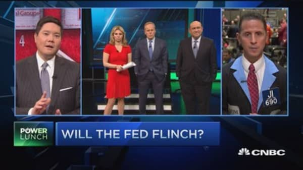 Will the Fed flinch?