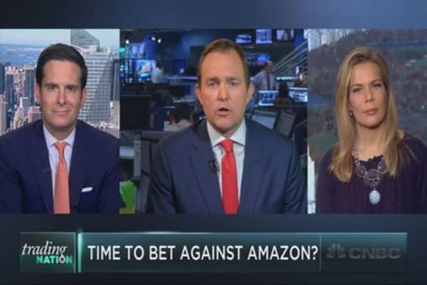 Amazon shares look vulnerable: Technician