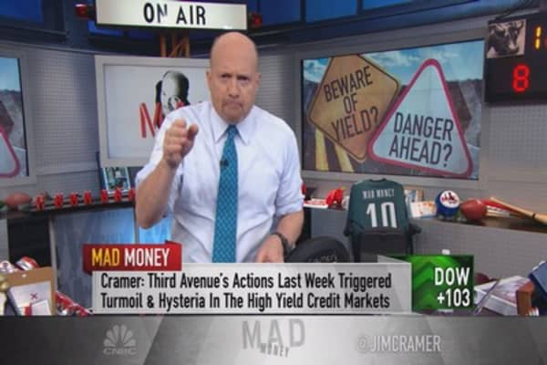Cramer: High yield's impact to REST of the market