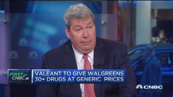 Valeant CEO: Selling drugs directly to Walgreens