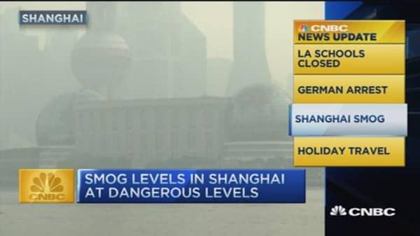 CNBC update: Shanghai smog