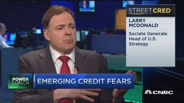 Emerging credit fears