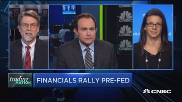 Trading Nation: Financials & the Fed