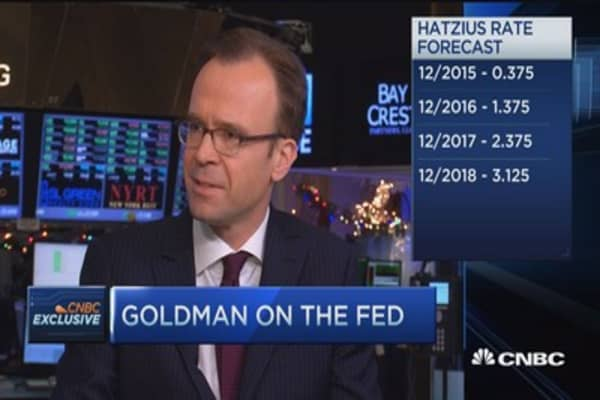 Goldman's Hatzius: Most important thing to watch amid Fed meeting