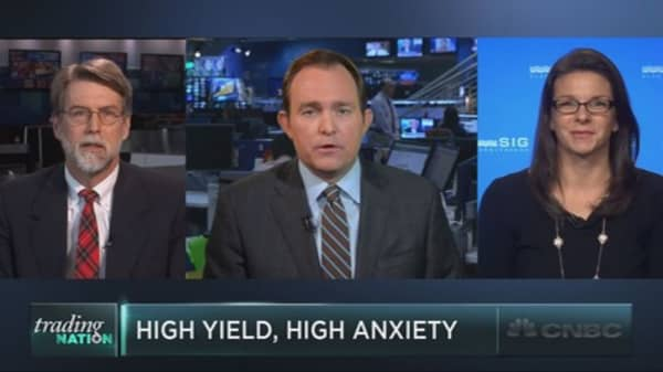 High anxiety in high yield
