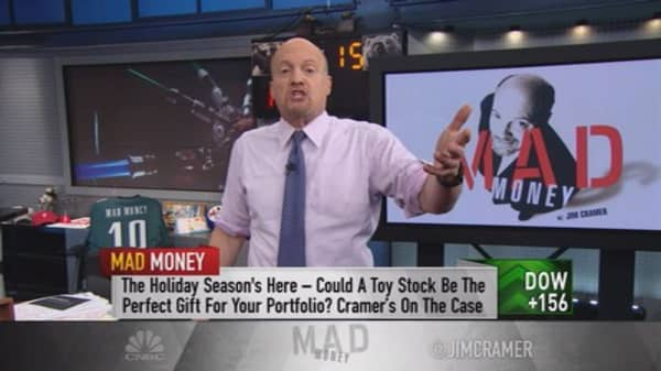Cramer: The winner of holiday toy shopping is…