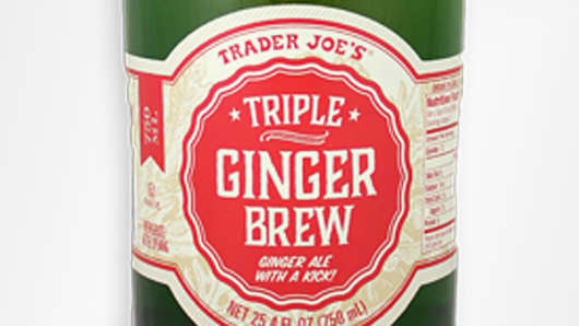Trader Joe's recalls Triple Ginger Brew due to bursting bottles.