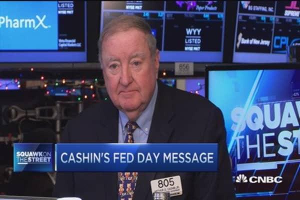 Cashin's market outlook